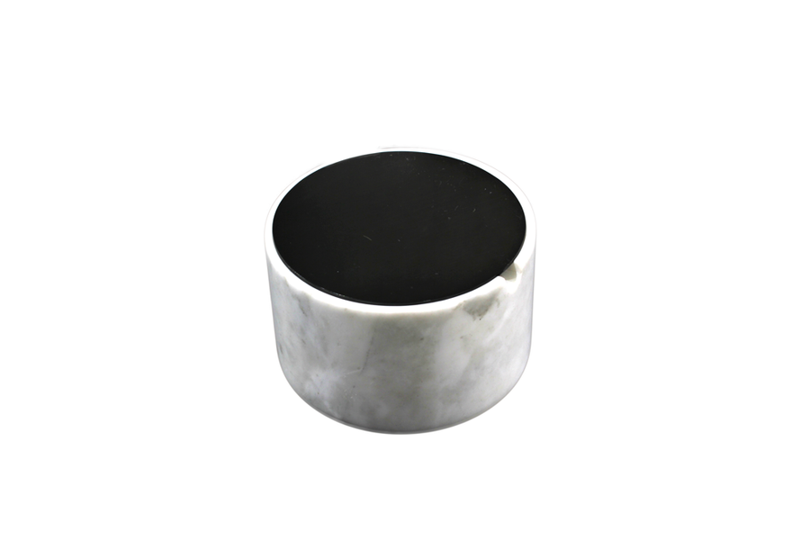 CURA - MARBLE CONTAINER (BLACK)