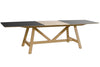 MEGAN - DINING TABLE - METAL TOP