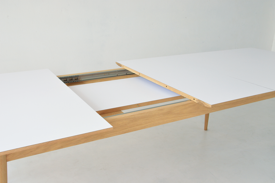 SHUTE - DINING TABLE - WHITE