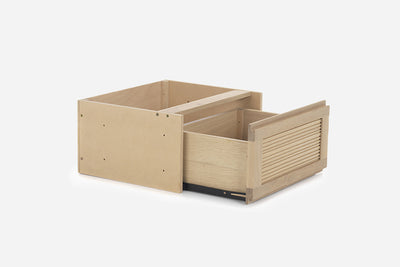 TASSIA - 1 DRAWER - NATURAL