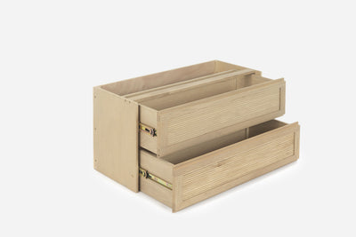 TASSIA - 2 DRAWERS L - NATURAL
