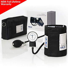 Load image into Gallery viewer, MDF® Calibra® Aneroid Premium Professional Sphygmomanometer - Blood Pressure Monitor with Adult Cuff & Carrying Case - Full Lifetime Warranty & Free-Parts-For-Life - Black (MDF808M-11)