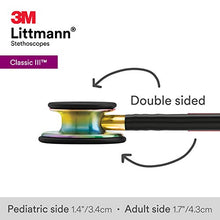 Load image into Gallery viewer, Rainbow Littmann Stethoscope
