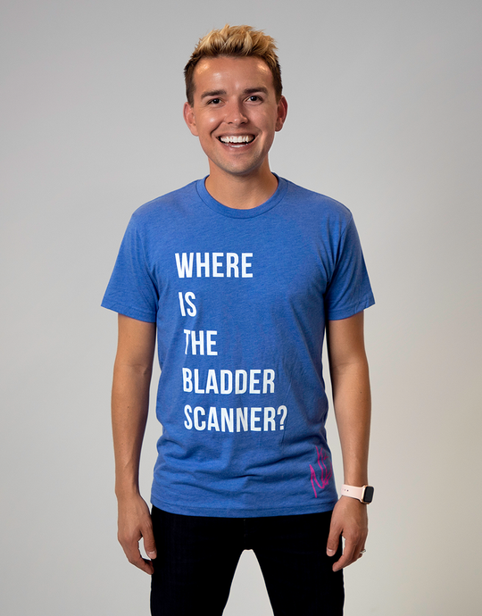 Where Is The Bladder Scanner Tee