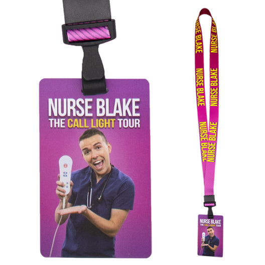 The Call Light Tour - Lanyard