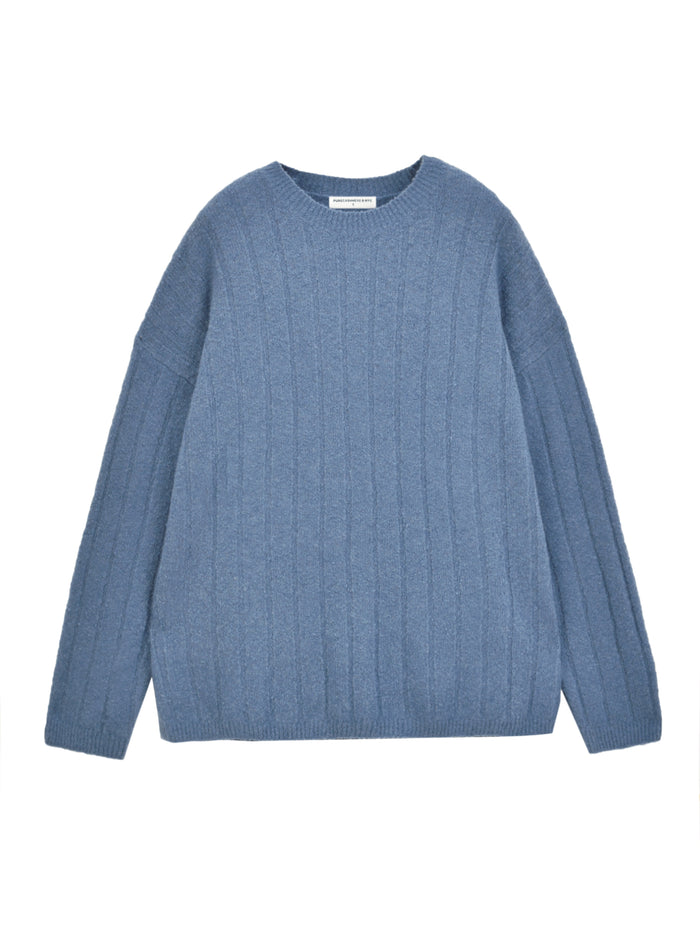 Cashmere Boucle Sweater_Daydream