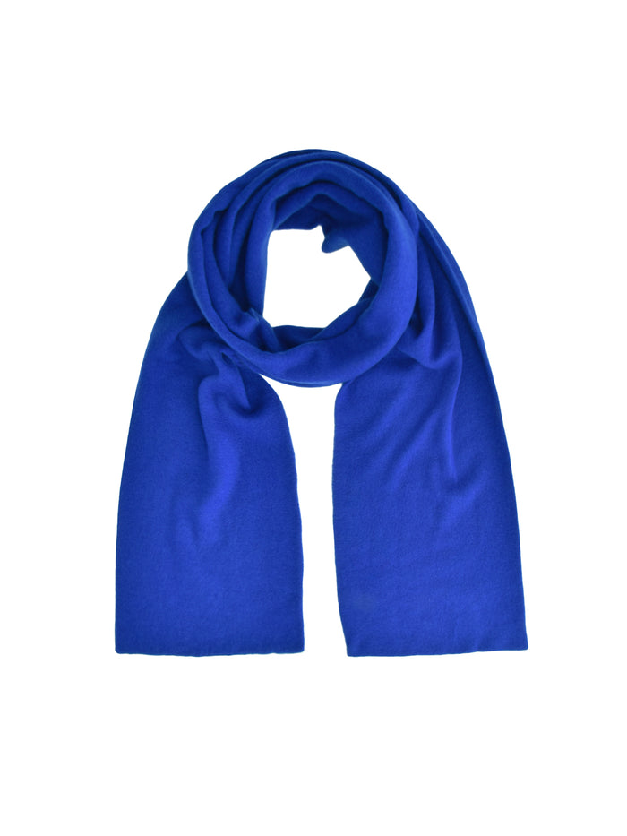 Classic Cashmere Scarf_Royal Blue