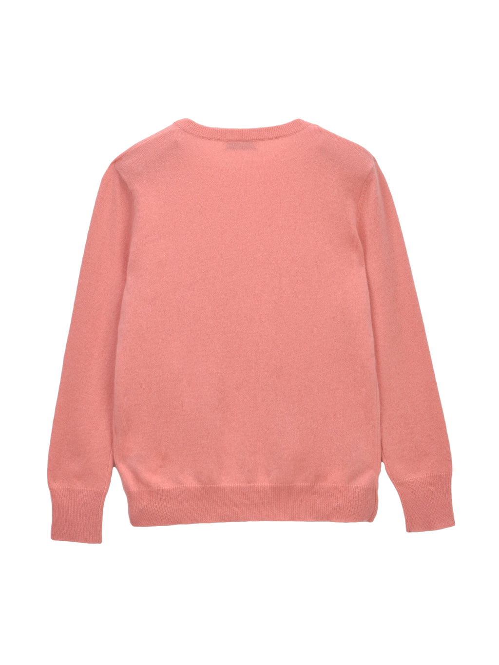 Classic Crew Neck Sweater_Dust Pink