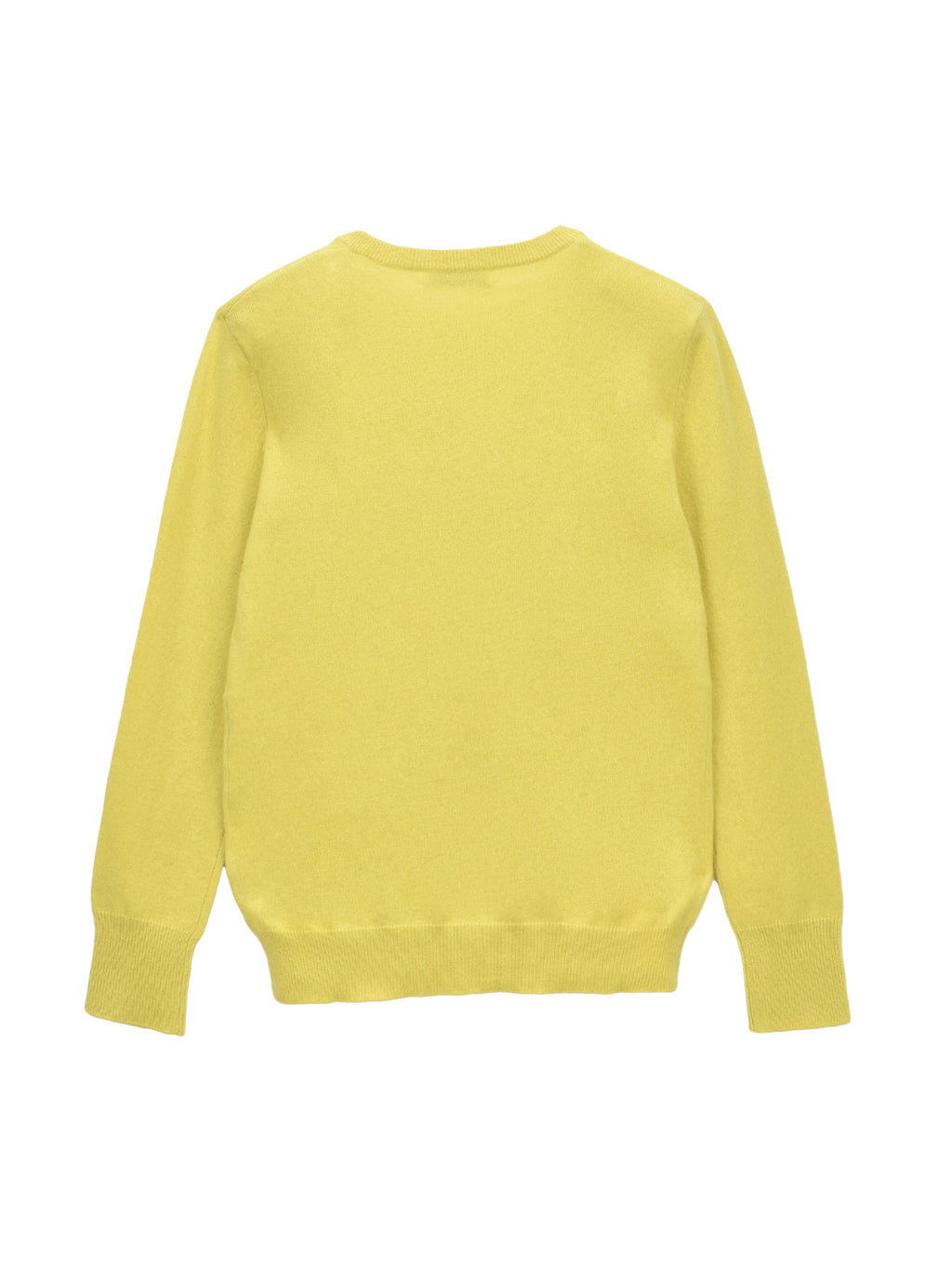 Classic Crew Neck Sweater_Lime