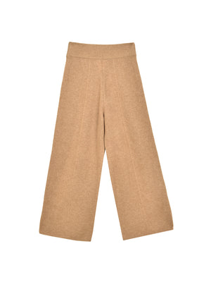 Loose Fit Pants_Beige