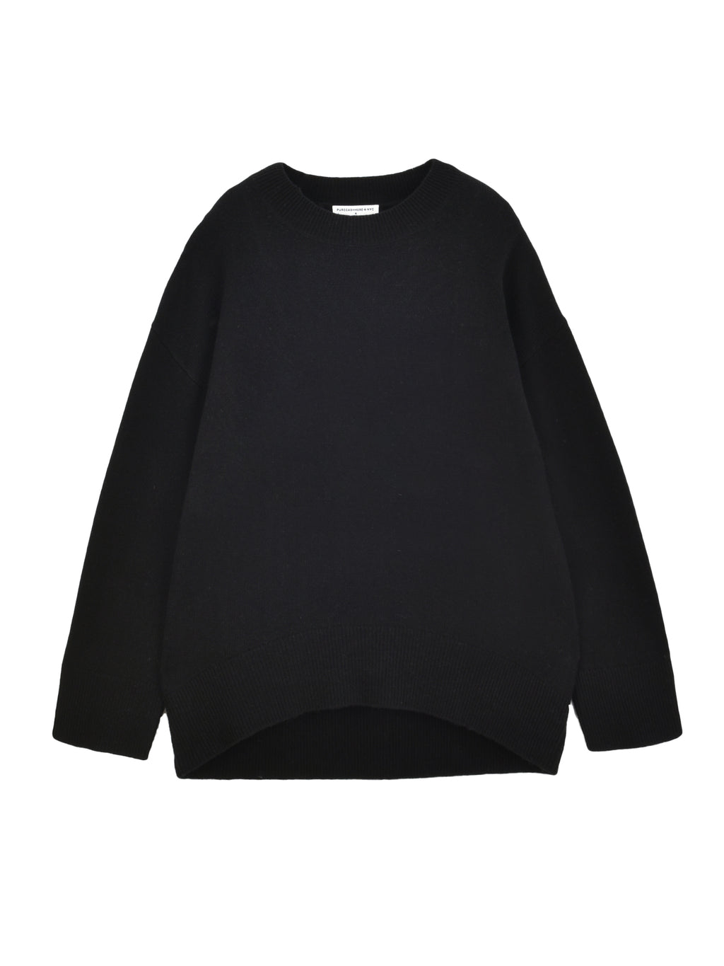 Loose Fit Sweater_Black