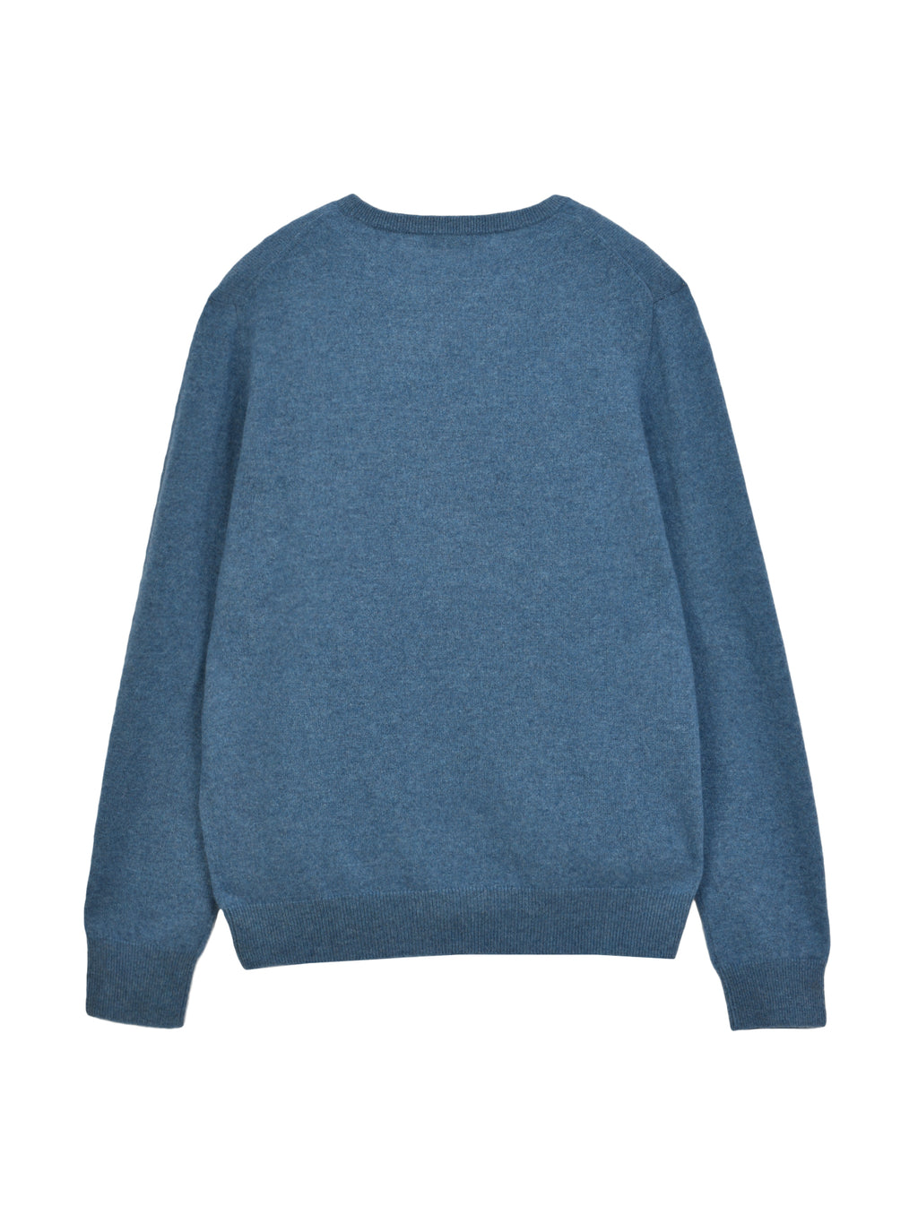 Men Crew Neck Sweater_Dust Blue