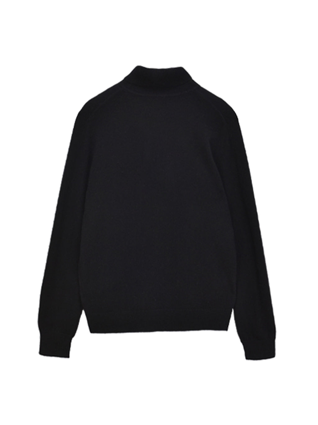 Men Turtleneck Sweater_Black