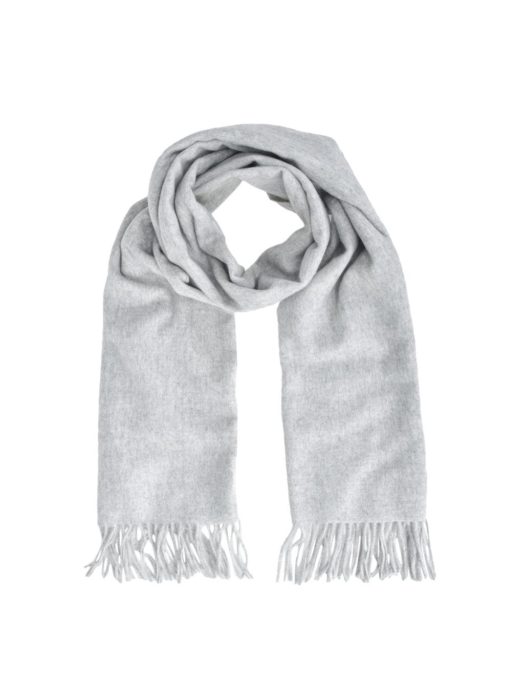 Tassel Scarf_Light Grey