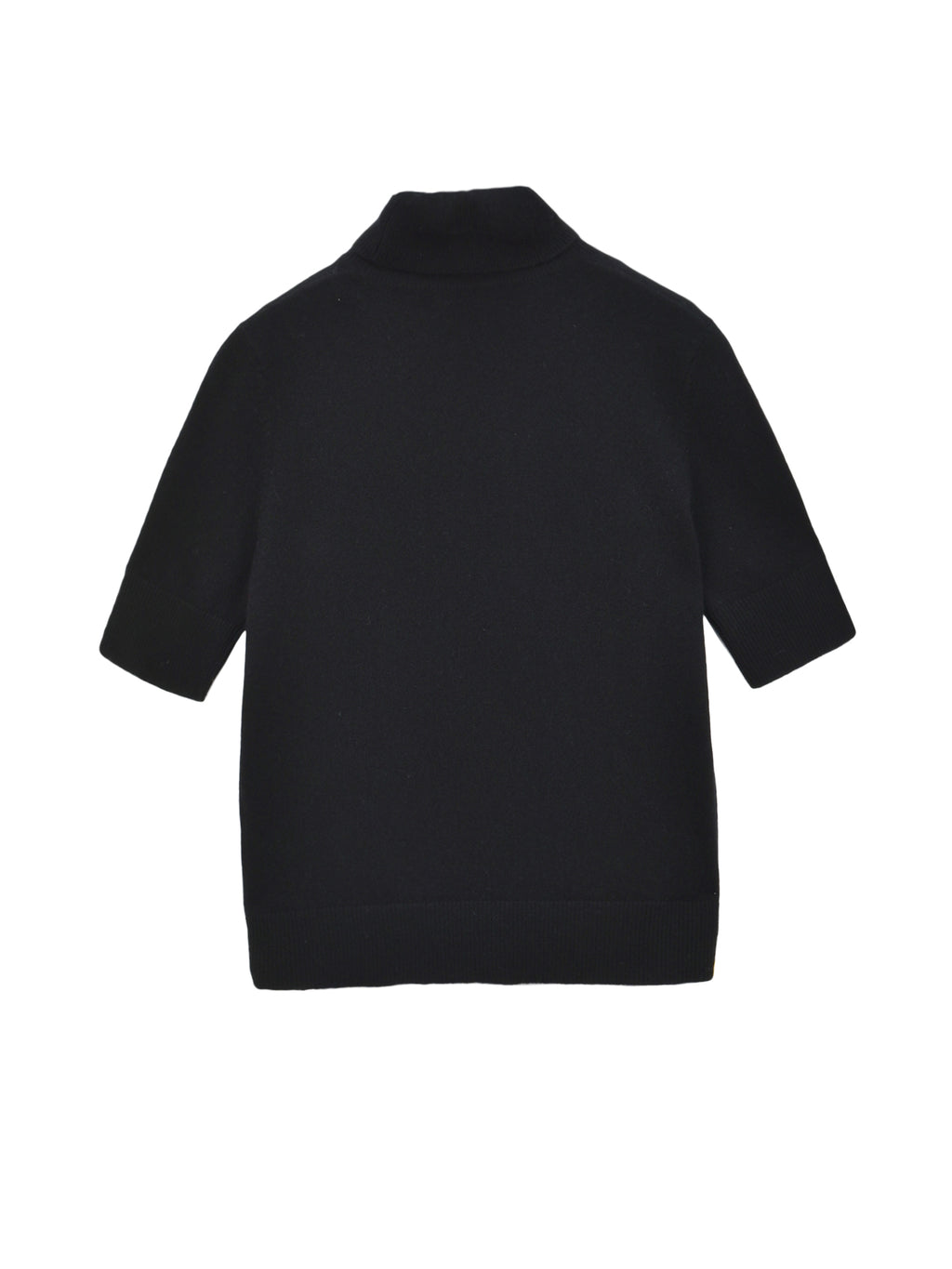 Turtleneck Shortsleeve_Black