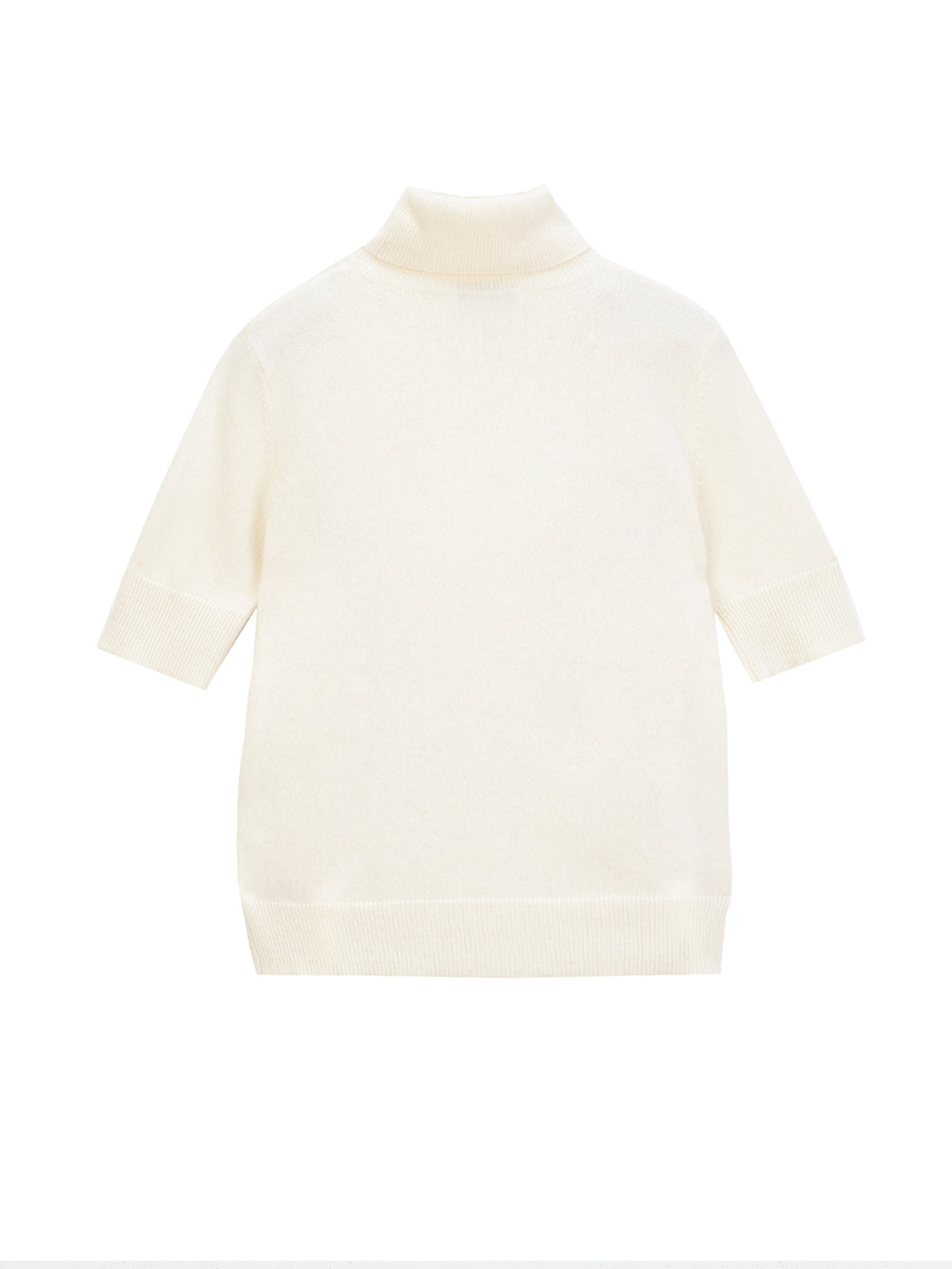 Turtleneck Shortsleeve_Vintage White