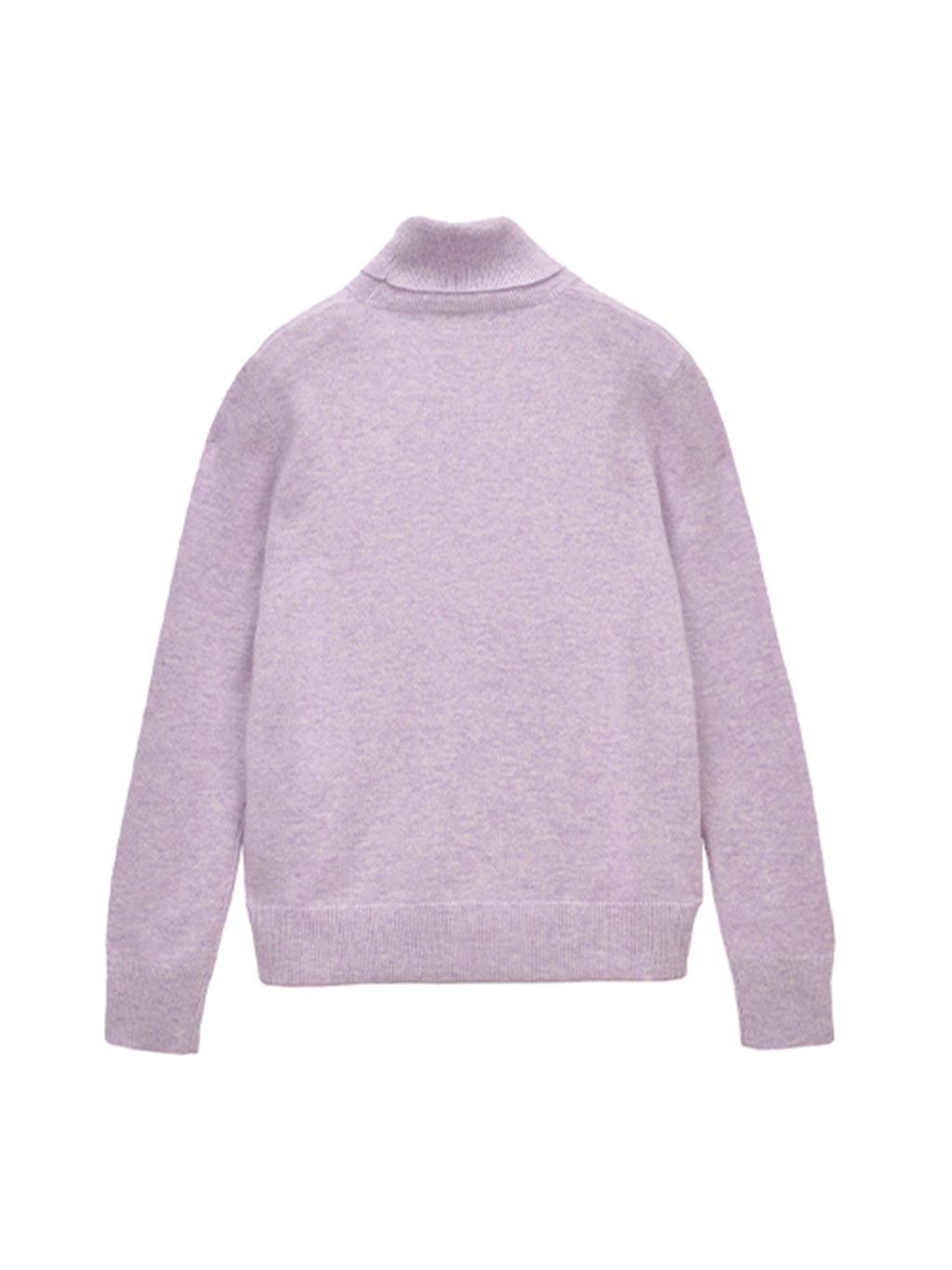 Turtleneck Sweater_Lavender