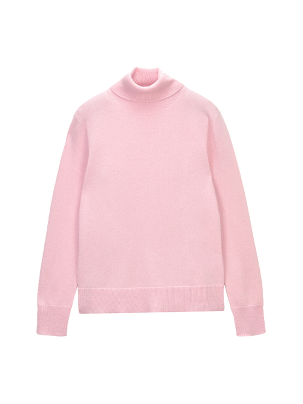 Turtleneck Sweater_Pink Blush