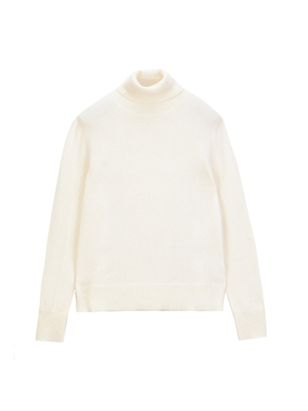Turtleneck Sweater_Vintage White