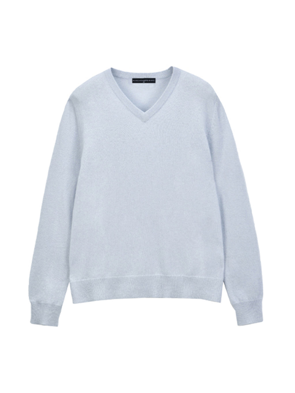 V Neck Sweater_Baby Blue