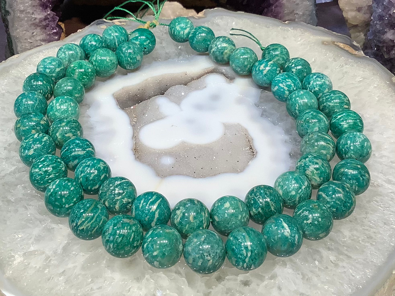16mm Russian Amazonite gemstone