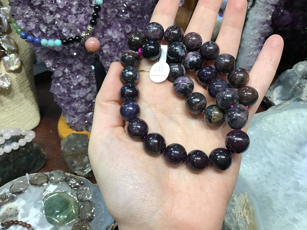 12mm Sugilite gemstone beads #1