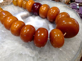 African Copal Amber Beads (Vintage)
