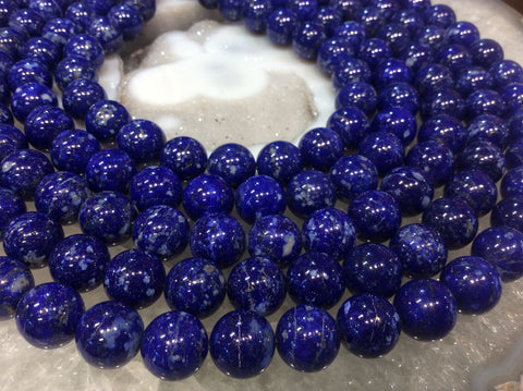 12mm Natural Lapis Lazuli Gemstone Round Beads