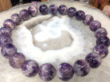 18mm Moroccan Amethyst Round Gemstone Beads