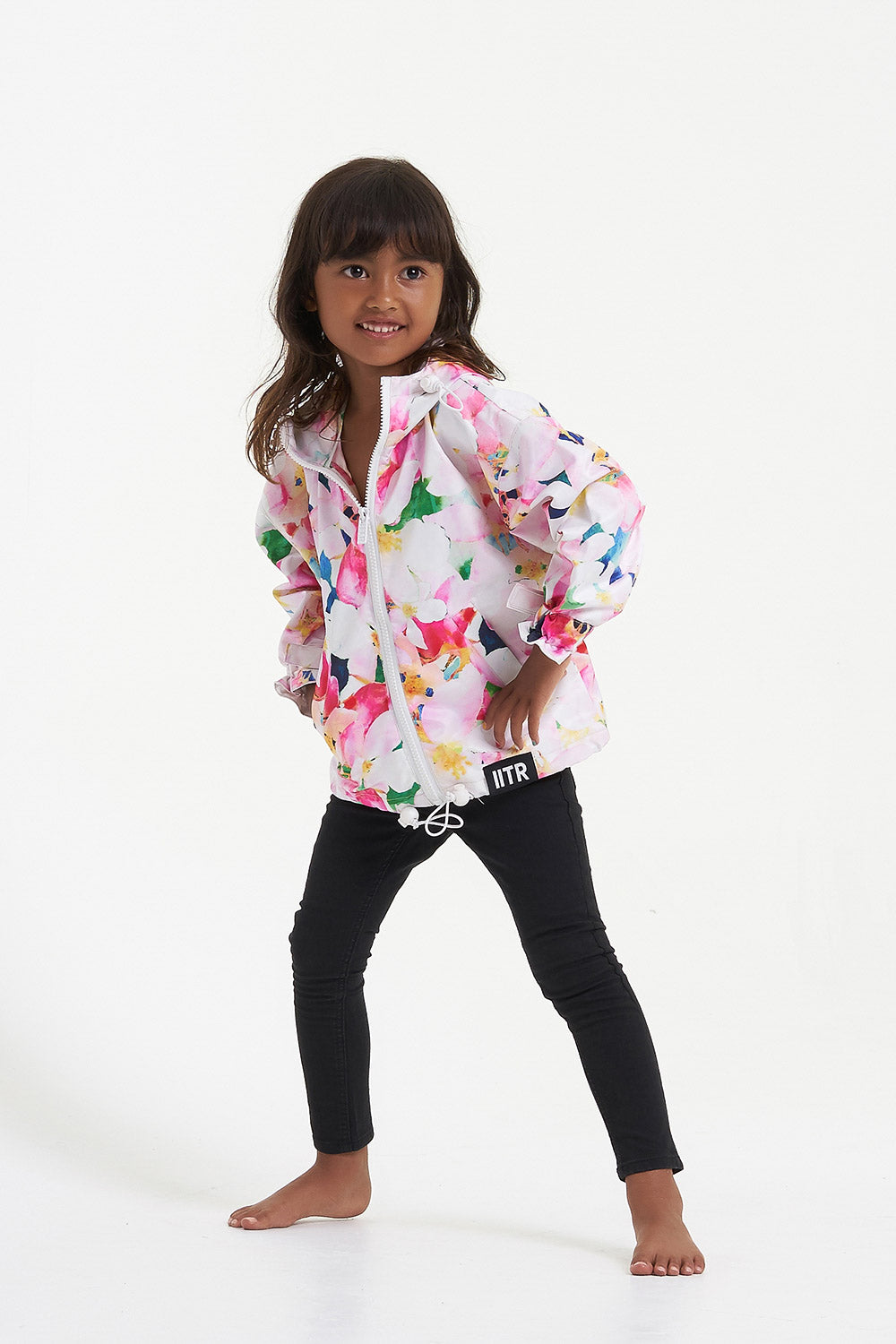 Insane in the Rain MINI KINDNESS Rain Mac Jacket made from Recycled Plastic Bottles