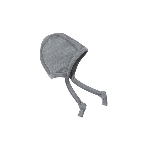 Thermal Merino Baby Hat (Marl-Gray)