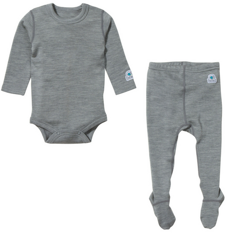 Baby Base Layer Set (Gray)
