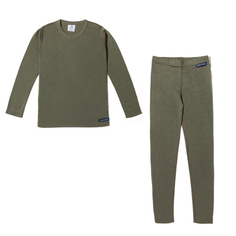Kids Base Layer Set (Green)