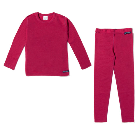 Kids Base Layer Set (Pink)