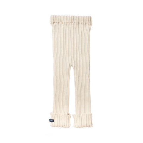 TUBES - Knit Leggings - Cream