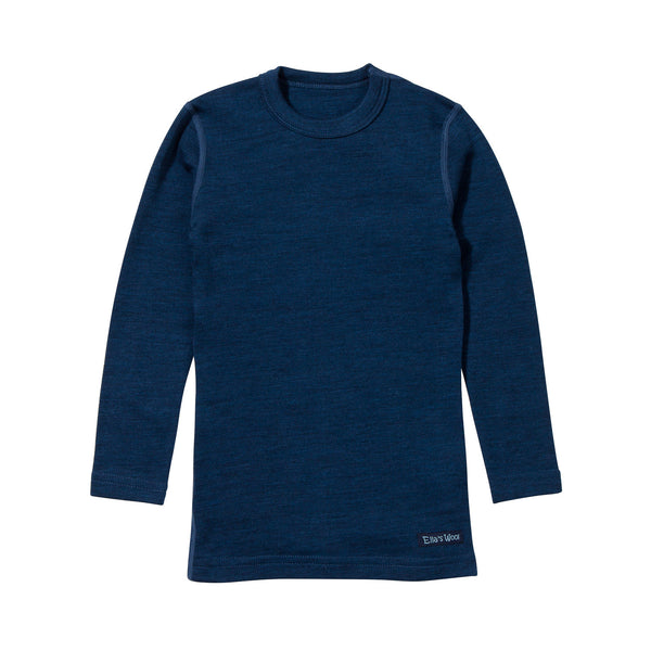 Ella's Wool Base Layer Set (Navy Blue) NOTE SHIPPING