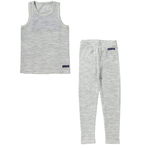 Tank Top Base Layer Set (Gray)