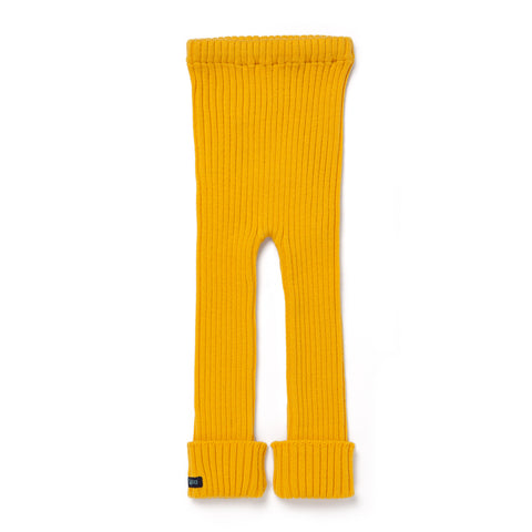 Kids Tubes - Knit Leggings - Sunset Park (Yellow)