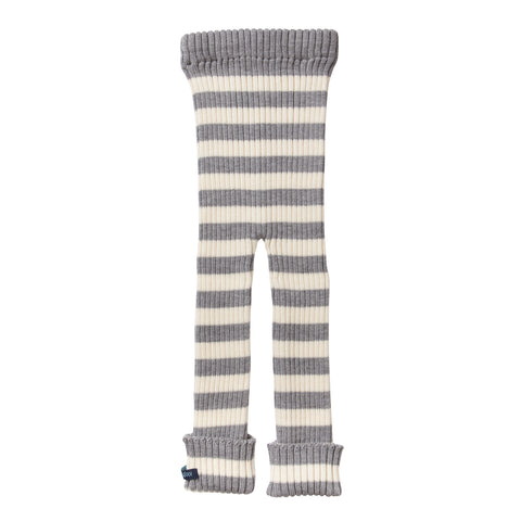 TUBES - Knit Leggings - Williamsburg Winter (Gray Striped)