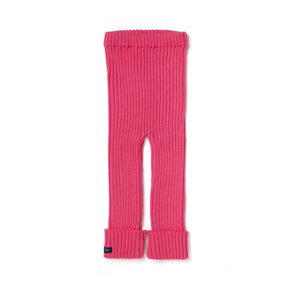 Tubes - Knit Leggings - Raspberry Pink