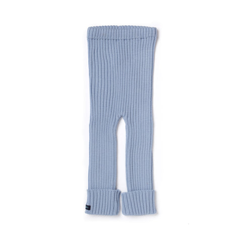 TUBES - Knit Leggings - Lakeside Ice (Light Blue)