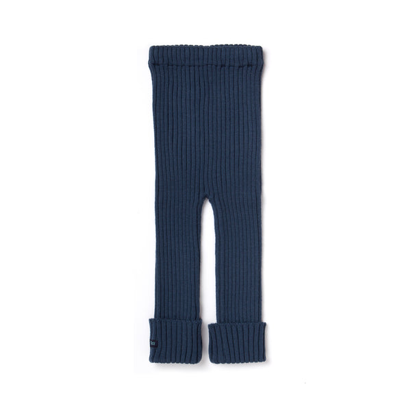 Tubes - Knit Leggings - East River Navy Teal