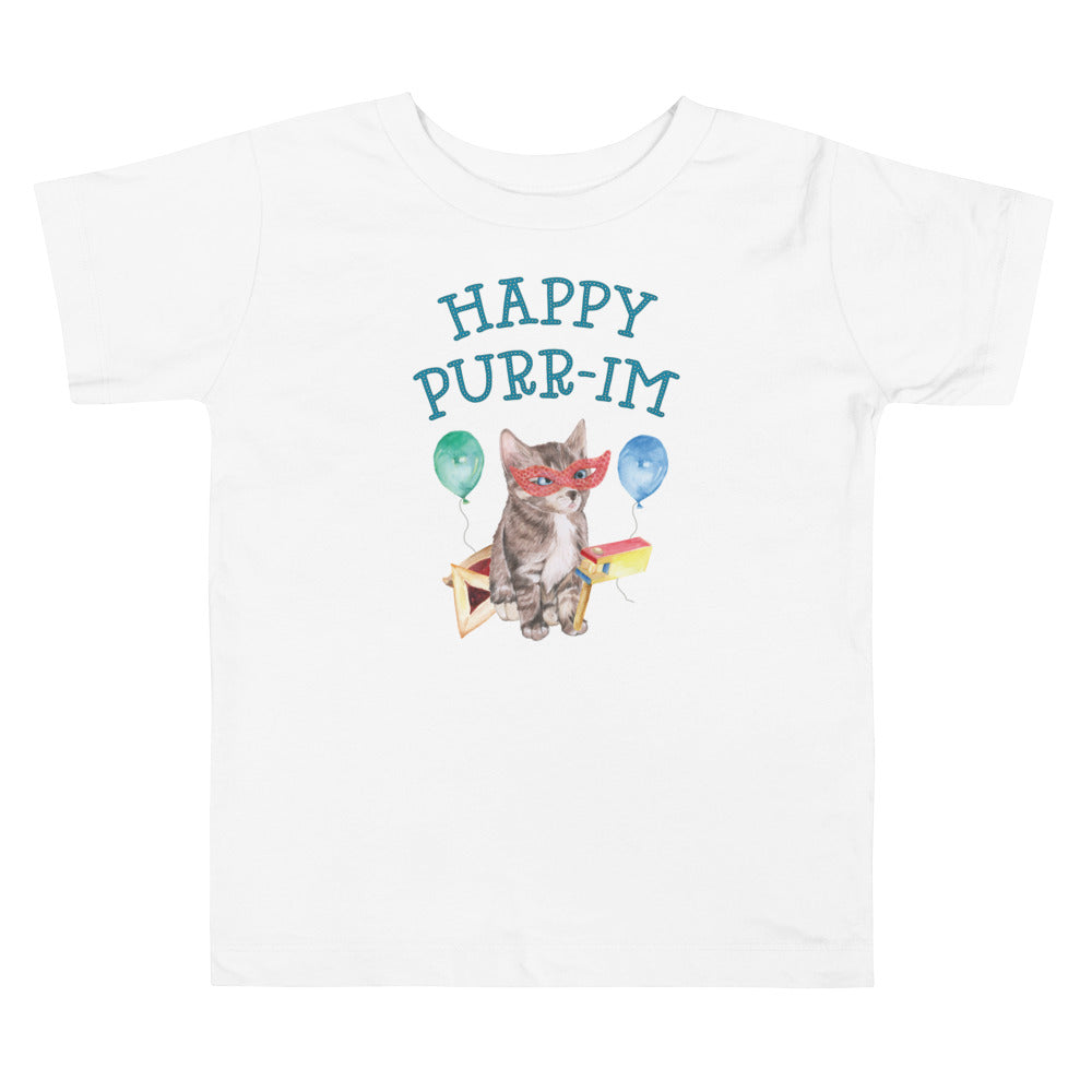 Happy Purr-im (Purim) Toddler Shirt