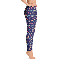 Purim Leggings - Navy