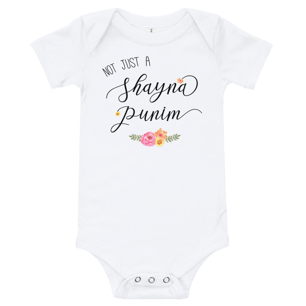 Not Just a Shayna Punim Bodysuit