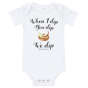 When I Dip, You Dip, We Dip (Apples & Honey) Bodysuit