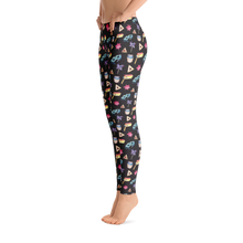 Purim Leggings - Black