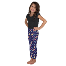 Kids Purim Leggings - Navy