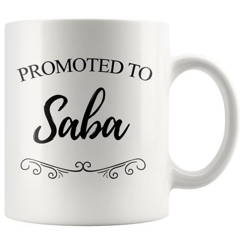 Promoted to Saba