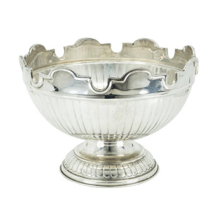 Punch Bowl/Verrière English, Mid-20th Century Silver Plated